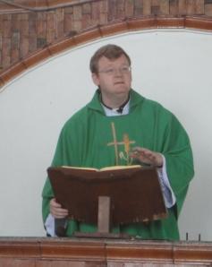 Father Jason Preaching
