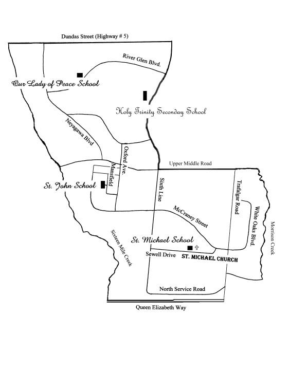 Parish Boundaries Updated August 2012