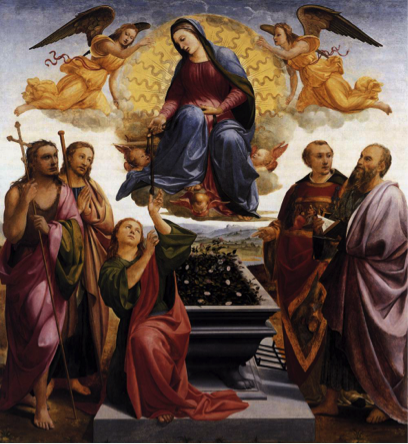 On Friday August 15th at 7pm we will celebrate a Solemn Mass for the Assumption of Mary.
